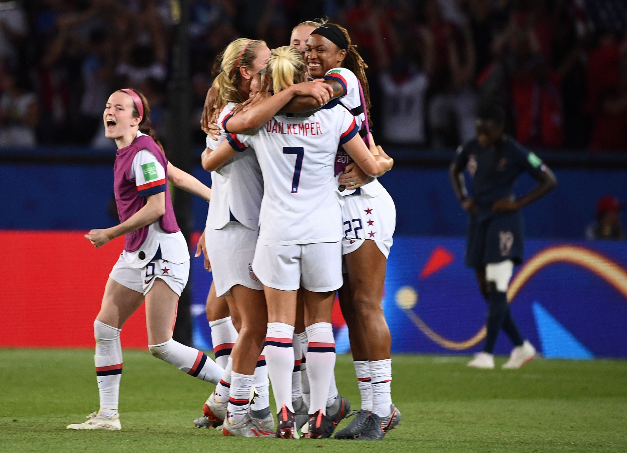 Heartbreak for hosts France as holders United States beat them to semi-final berth at FIFA Women's World Cup