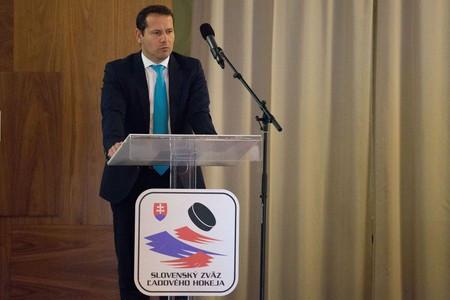 Miroslav Shatan nahrádza Martina Kohúta vo funkcii prezidenta Slovenskej federácie ľadového hokeja © SZĽH