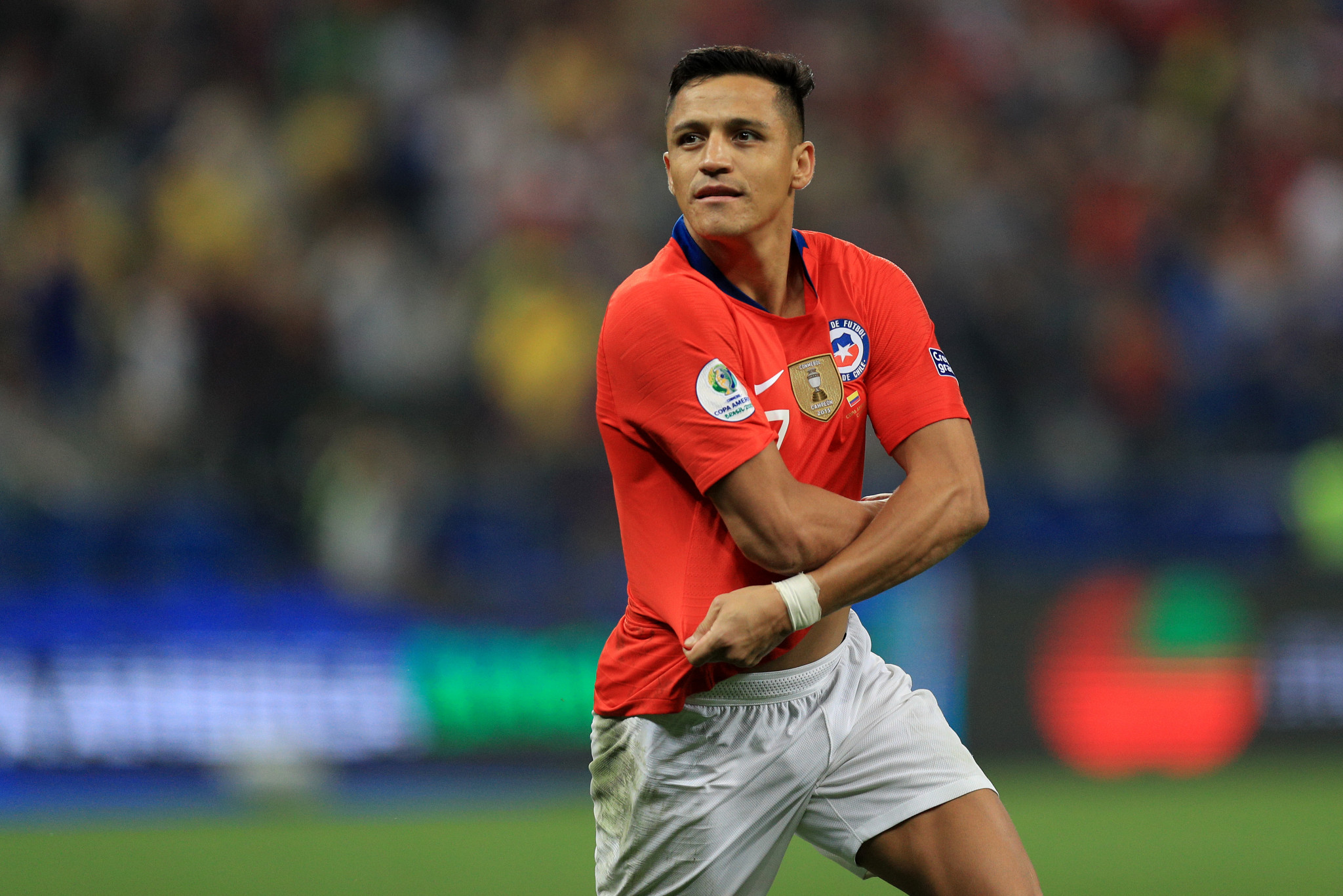 Alexis Sánchez scored the decisive penalty as Chile remained on course for a third successive Copa América title ©Getty Images