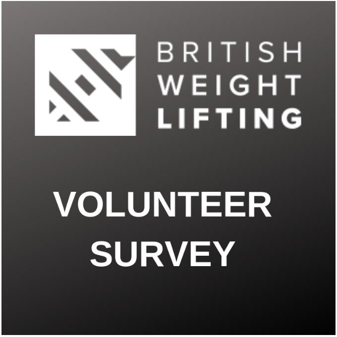 British Weight Lifting seeks feedback from volunteers