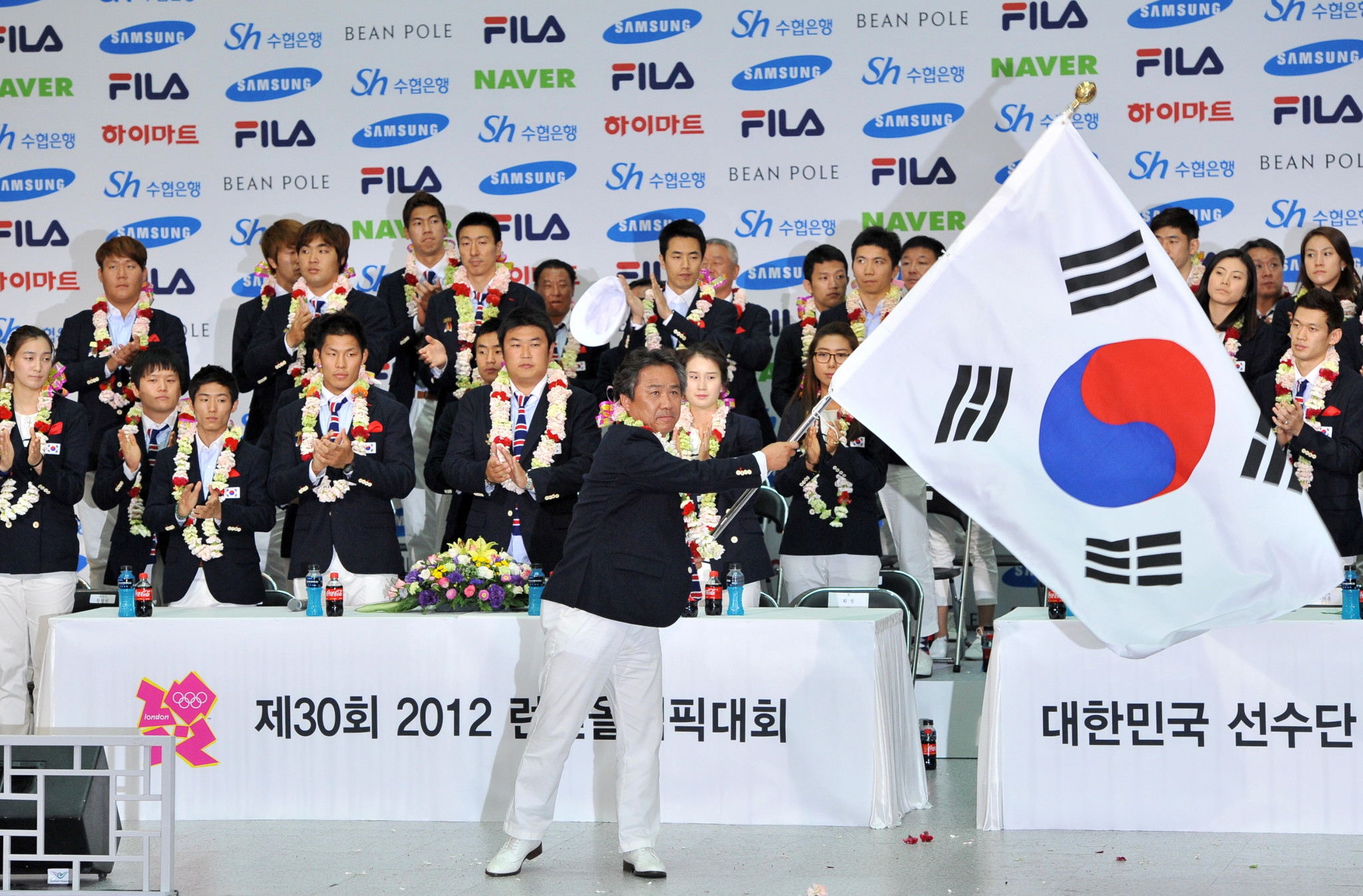 Lee Kee-heung was the Chef de Mission for South Korea at the 2012 London Olympics ©Getty Images