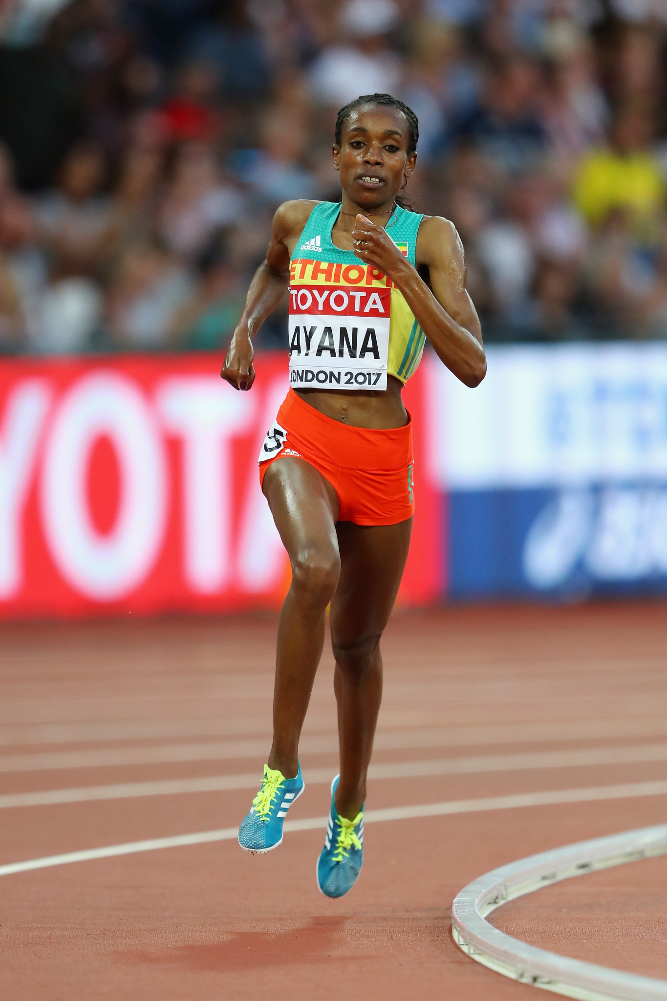 Ethiopia's world and Olympic 10,000m champion Almaz Ayana will be making her first competitive appearance on the track since 2017 when she takes part in tomorrow's IAAF Diamond League meeting in Stanford, California ©Getty Images