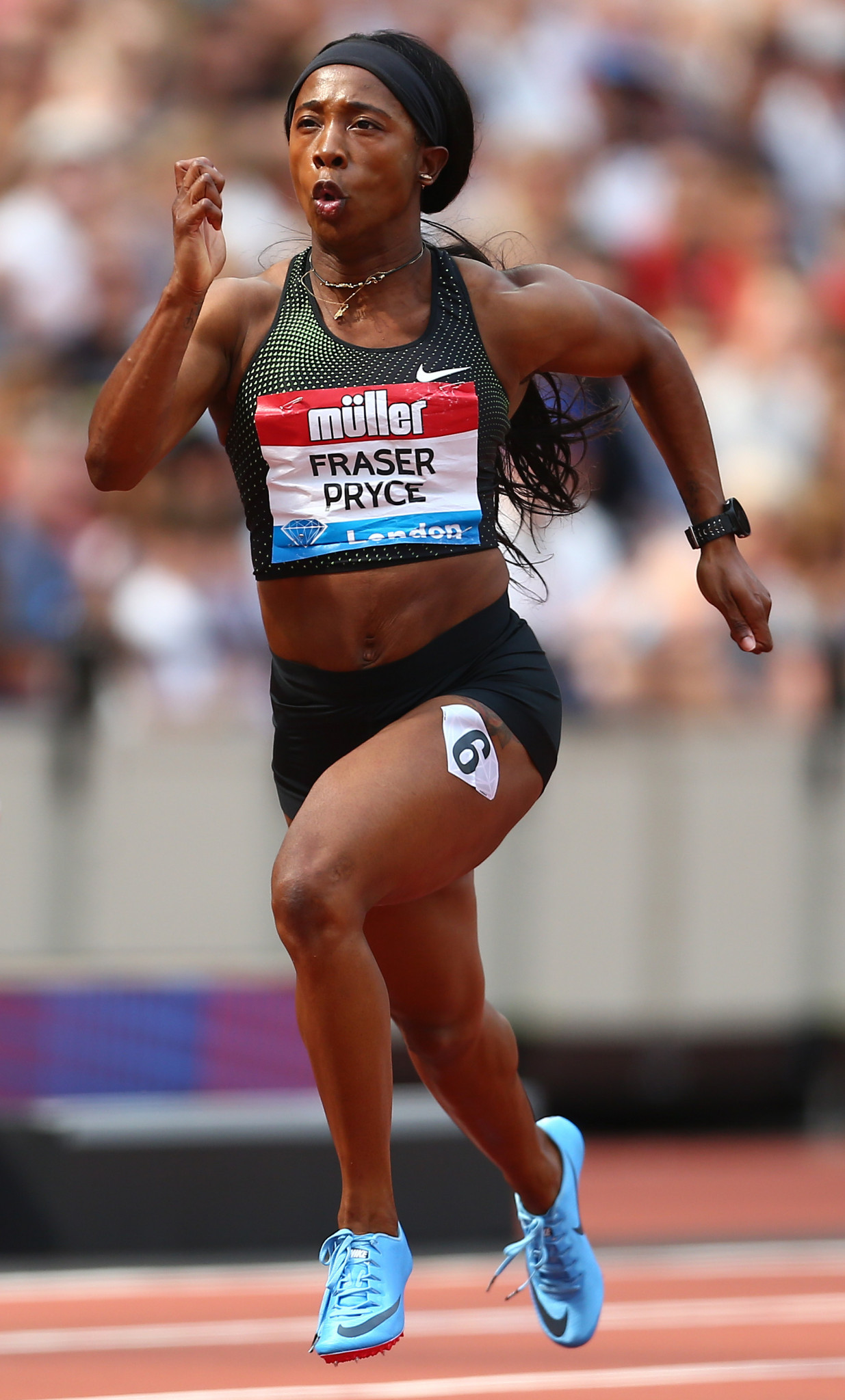 Jamaica's resurgent 2008 and 2012 Olympic 100 metres champion Shelly-Ann Fraser-Pryce will contest a talent-stacked race over that distance in tomorrow's IAAF Diamond League meeting in Stanford, California ©Getty Images