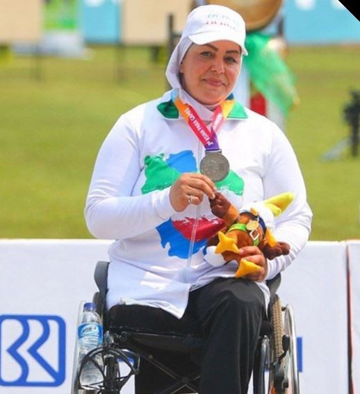 Razieh Shirmohammadi won World Para Archery Championship gold medal in Beijing in 2017, as well as silver at the Asian Para Games in Indonesia in 2018 in Jakarta ©Iran NPC