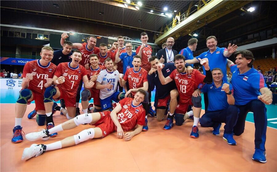 Russia reach final round of FIVB Men's Nations League after Argentina blockbuster
