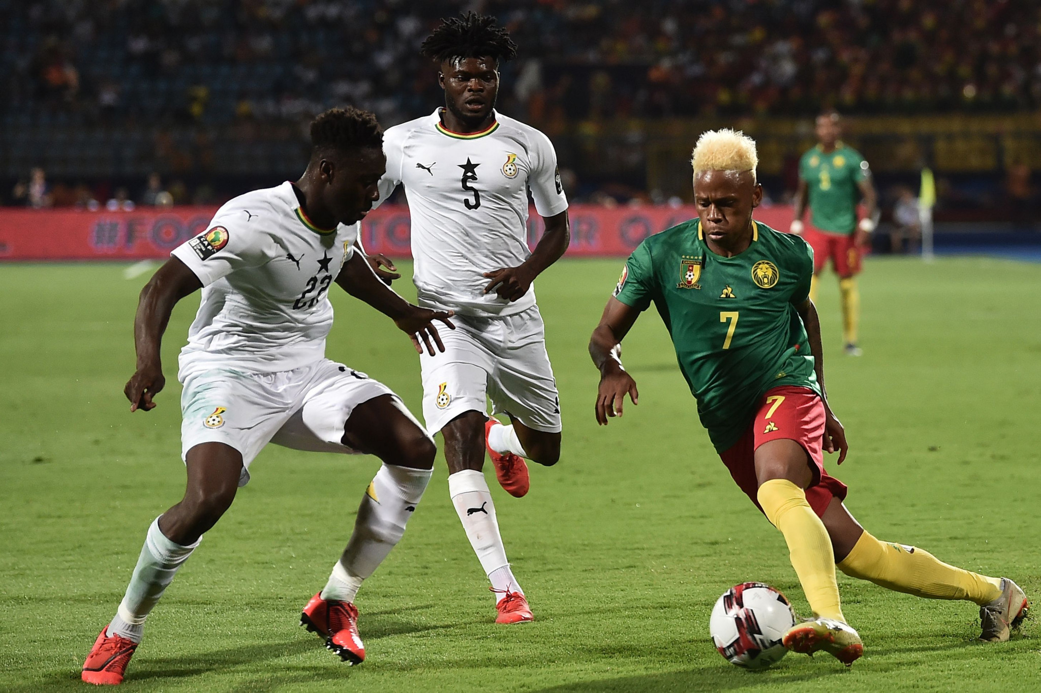 Cameroon remain on course for knockout phase at Africa Cup of Nations despite stalemate with Ghana