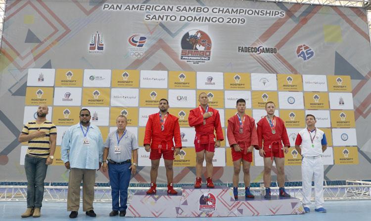The Pan American Sambo Championships continued in Santo Domingo ©FIAS