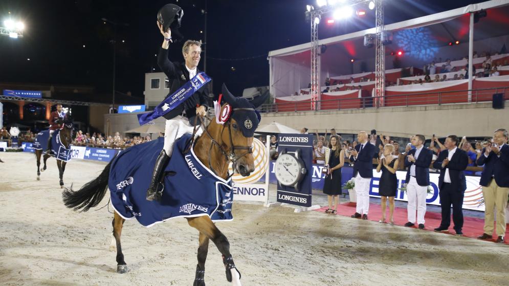 Dutchman van der Vleuten takes the honours in Monaco round at Longines Global Champions Tour