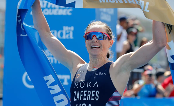 Zaferes strengthens grip on World Triathlon Series with Montreal success