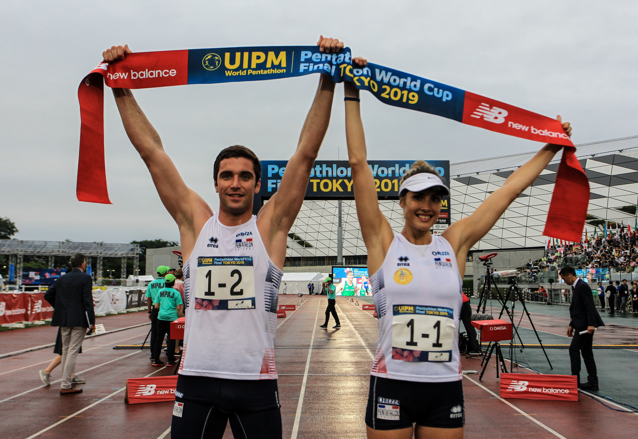 Praise for Tokyo 2020 after France claim victory in mixed relay at UIPM World Cup Final