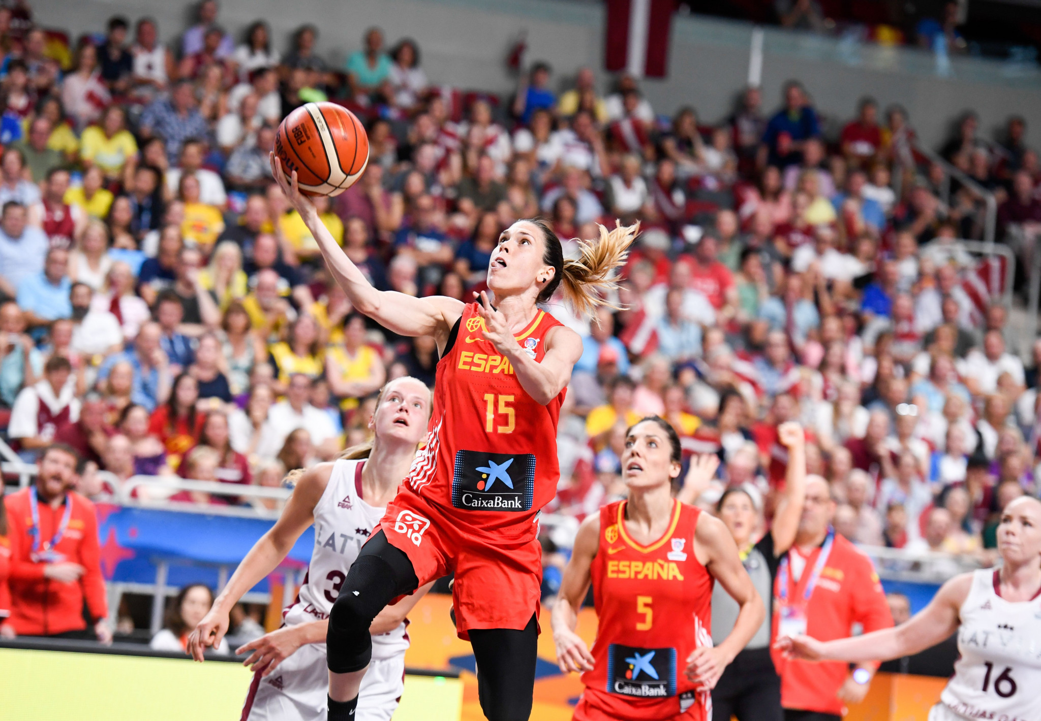 Spain and France earn quarter-final places at FIBA Women's EuroBasket