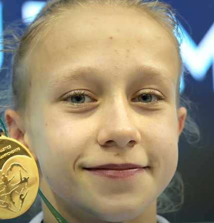 Russian teenage sensation wins third gold of Artistic Gymnastics Junior World Championships