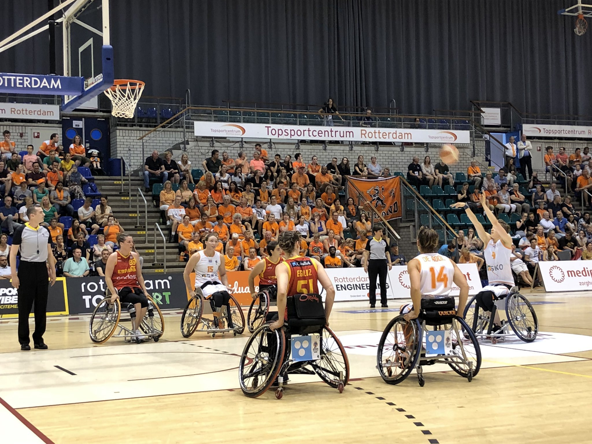 The Netherlands got their IWBF Women's European Championship Division A campaign off to the best possible start ©Dutch Wheelchair Basketball Team/Twitter