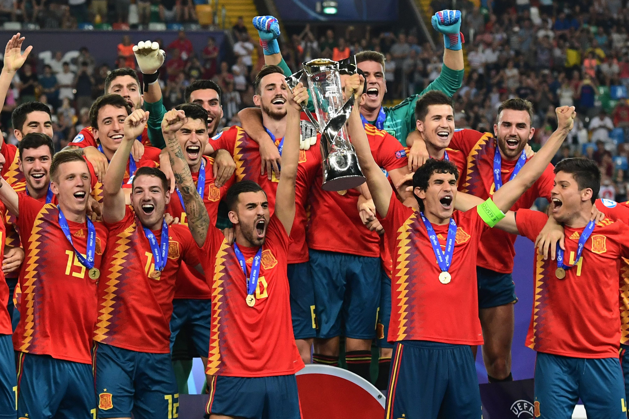 Spain beat Germany to win UEFA European Under-21 Championship