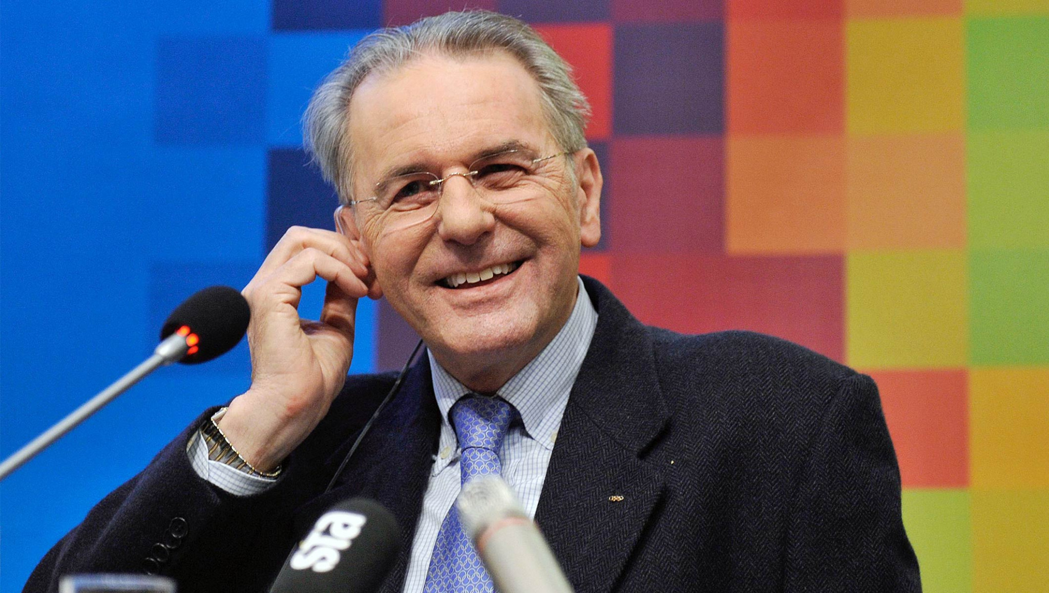 Thomas Bach's predecessor as IOC President, Jacques Rogge, had a very different style ©IOC
