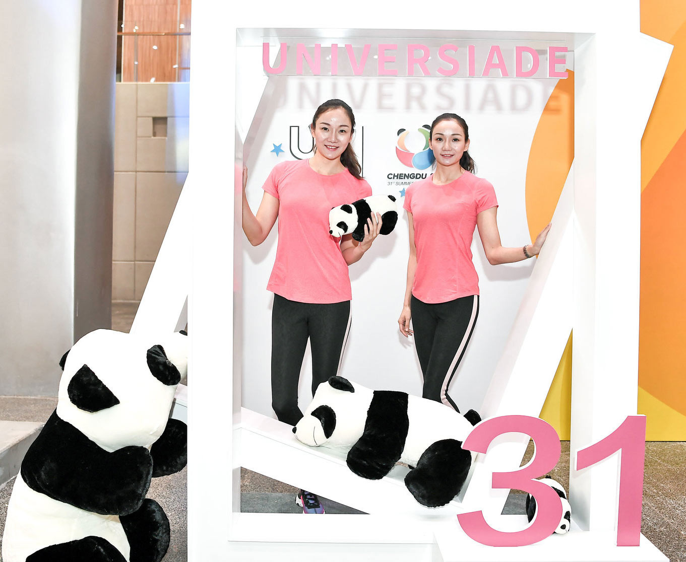 Chengdu is famous around the world for its pandas and they are set to feature heavily in its marketing campaign for the 2021 Summer Universiade launched in Beijing ©FISU