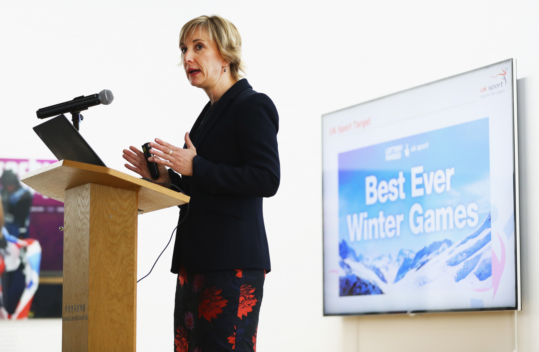 Chelsea Warr, director of performance at UK Sport, said there were some compelling cases for additional investment after bobsleigh was once again overlooked by the Government agency for funding for Beijing 2022 ©Getty Images