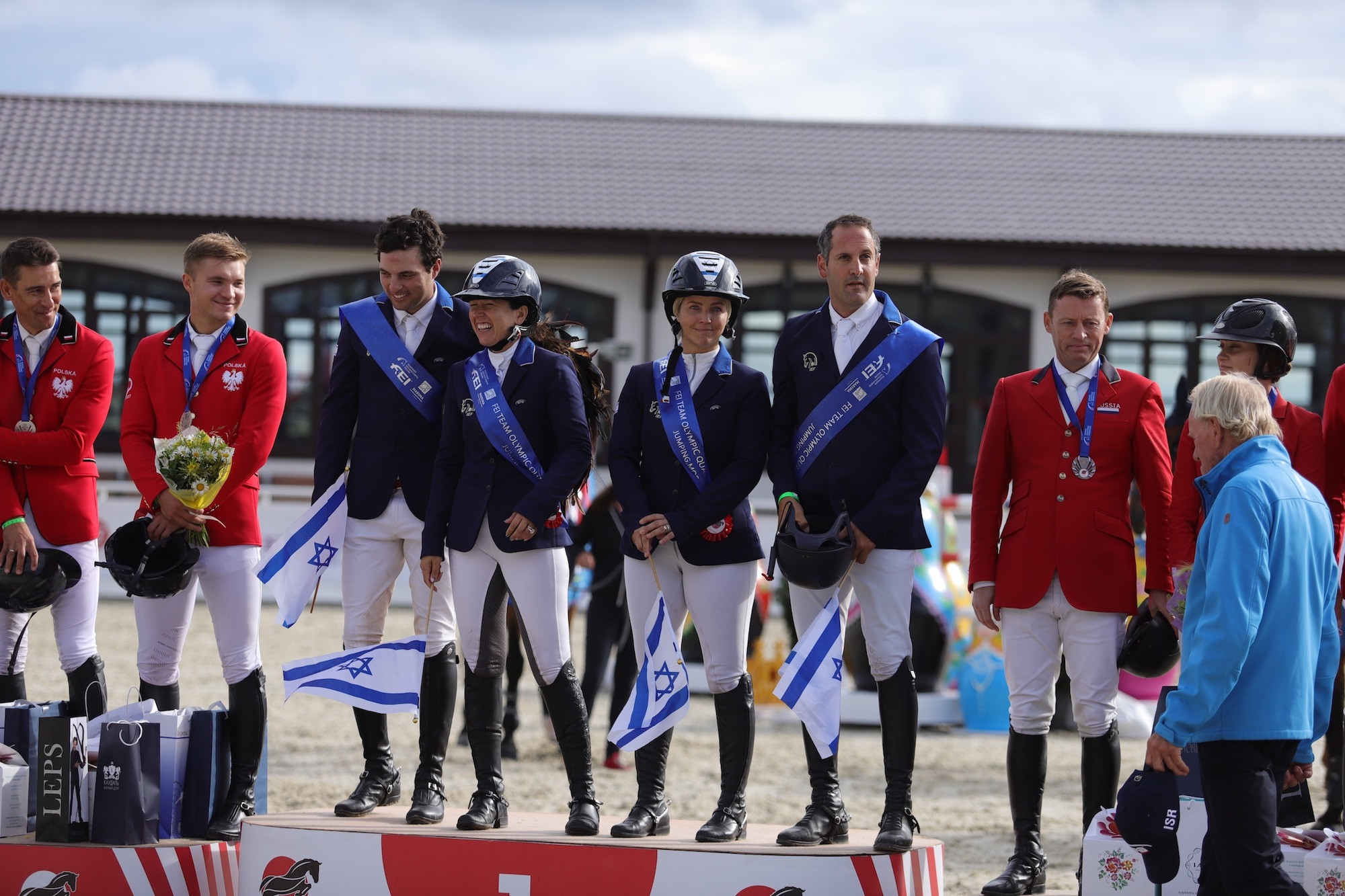Israel earn historic Olympic berth at Tokyo 2020 with qualifying victory in Moscow