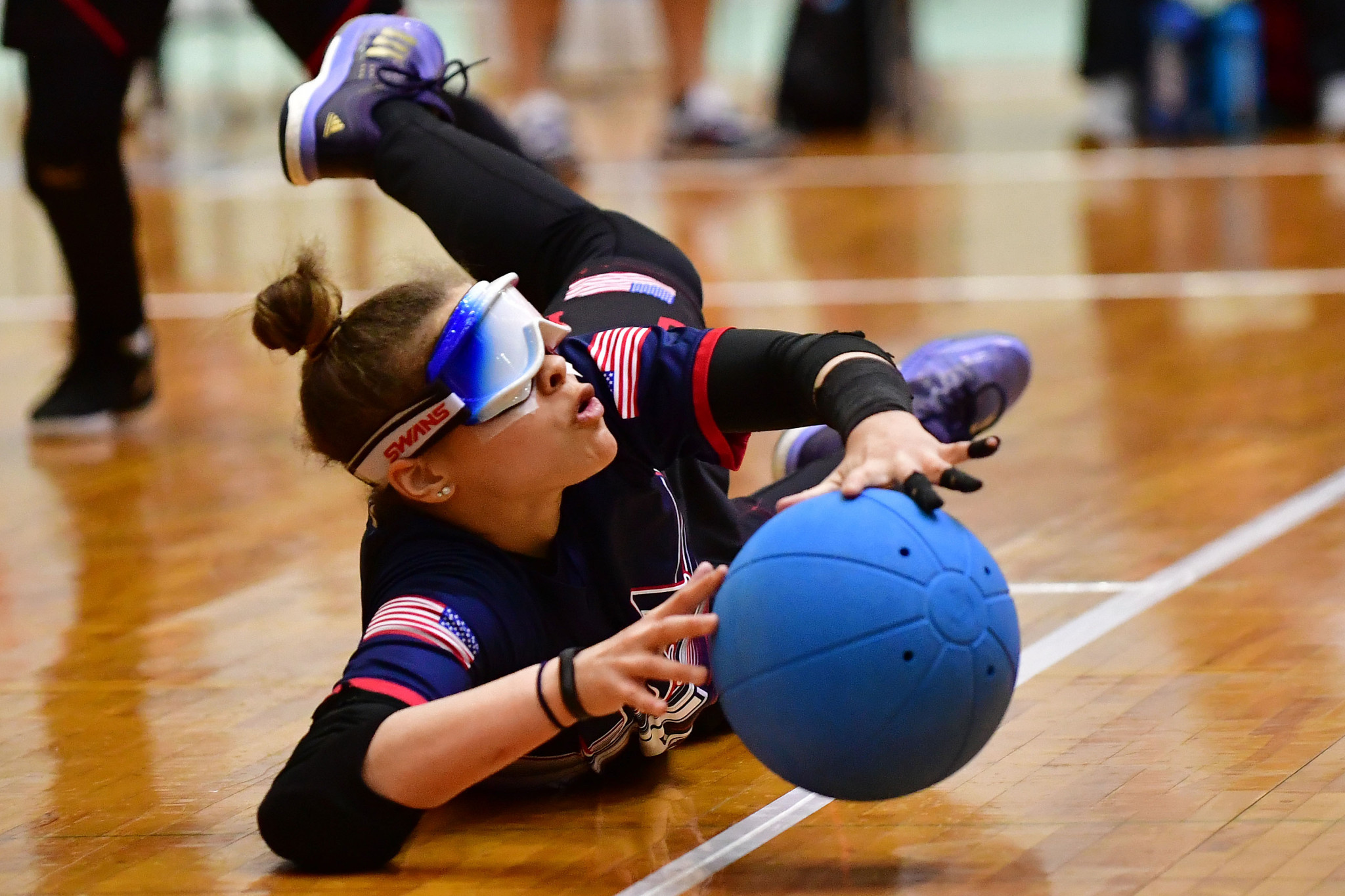 America's Amanda Dennis will be hoping for a turnaround in fortunes at the Goalball International Qualifier in Fort Wayne as the team try to qualify for Tokyo 2020 having won the Paralympic Games bronze medals at Rio 2016 ©Getty Images