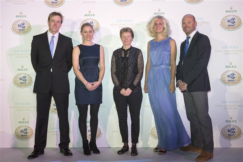 New Zealand pair Burling and Tuke and Britain's Ayton named ISAF World Sailors of the Year
