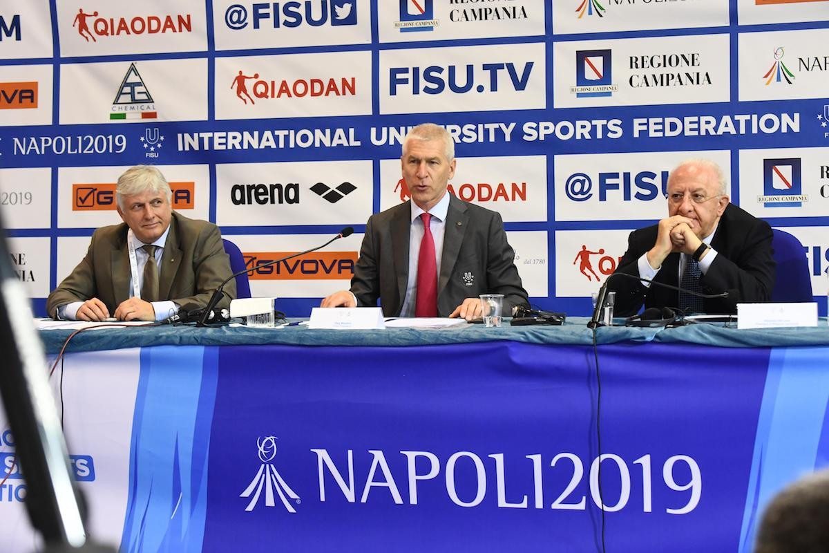 "FISU secretary general predicts ""excellent"" Summer Universiade as excitement for Naples 2019 grows"
