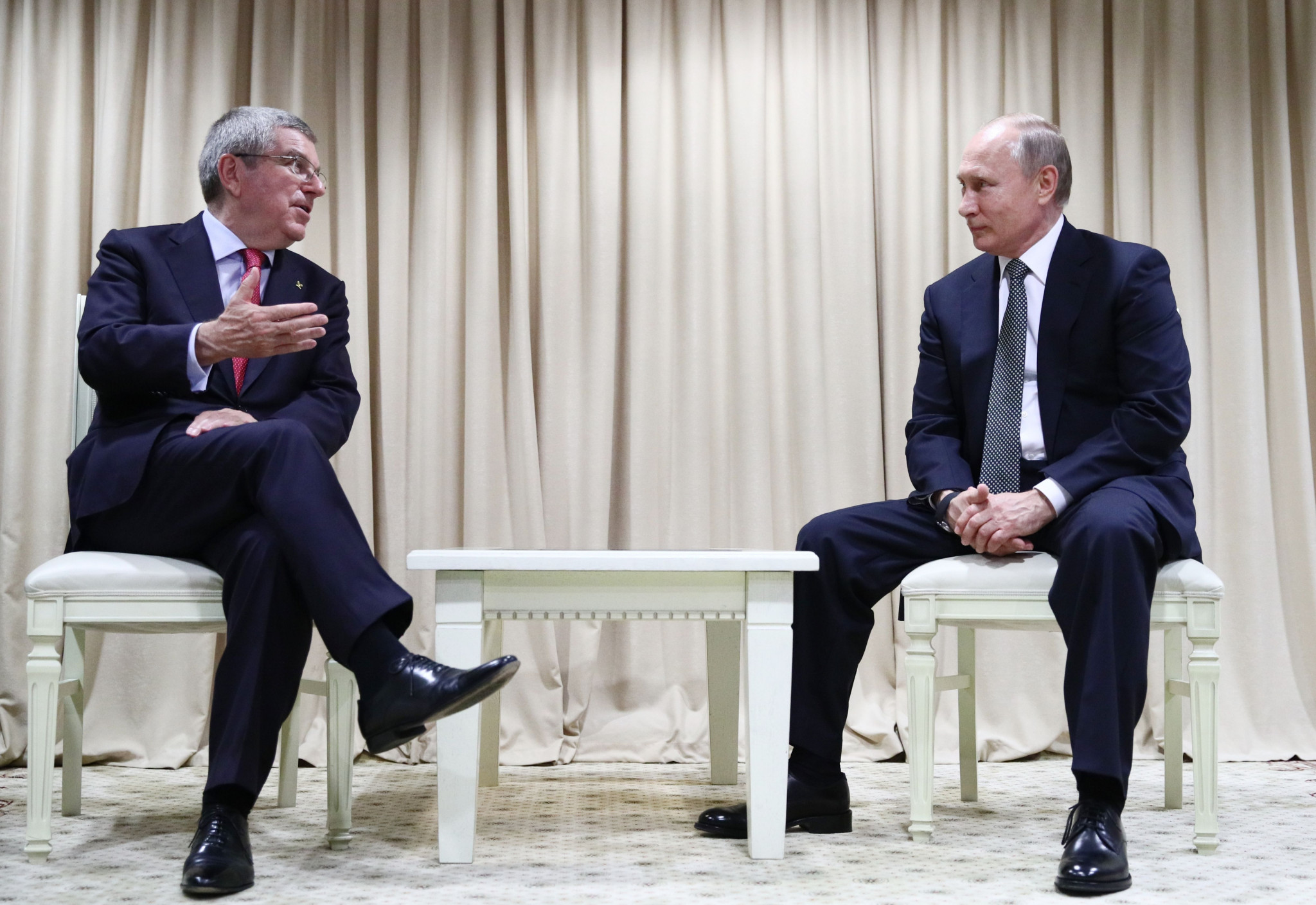 Putin congratulates Belarus for successful organisation of European Games during meeting with Bach