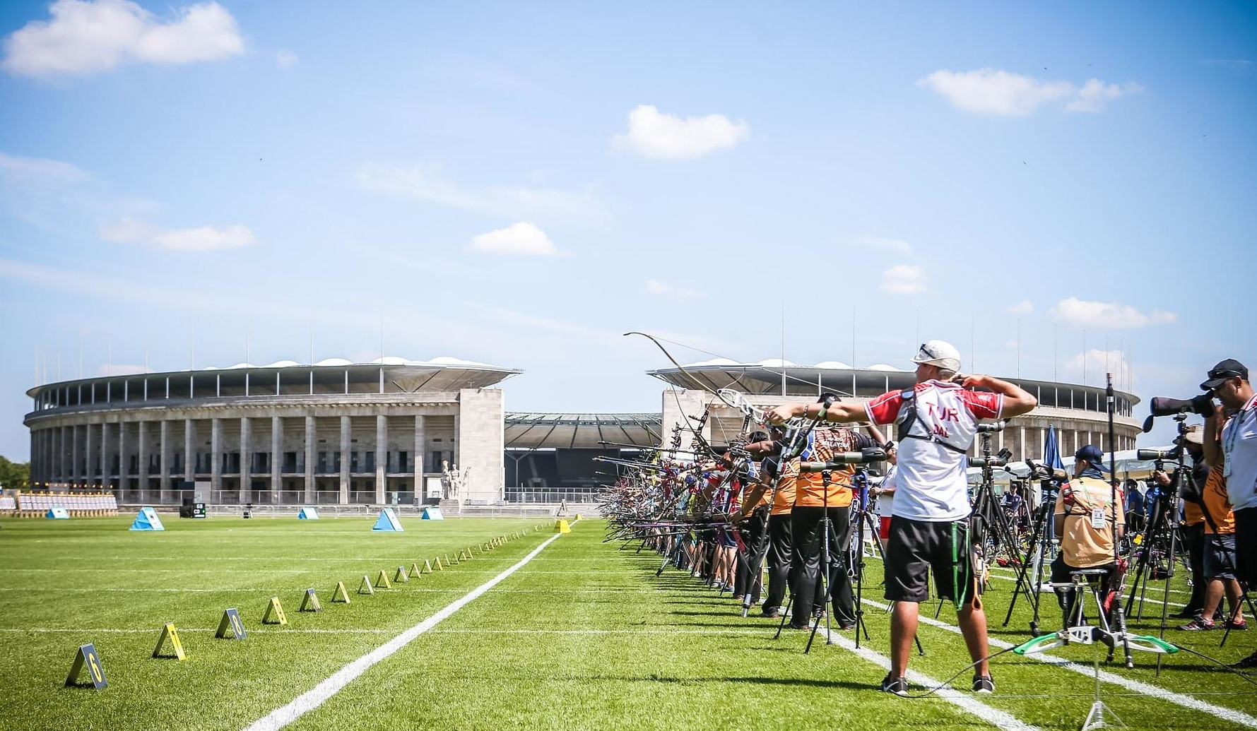Archery World Cup Final spots on the line in Berlin