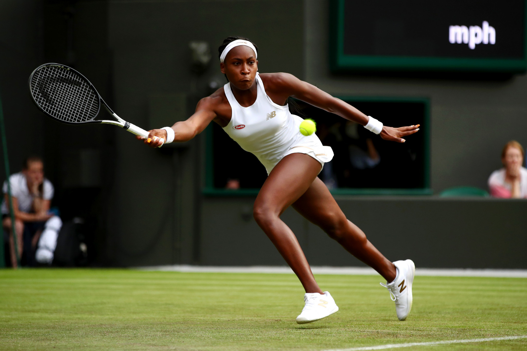 Cori Gauff, at 15 already the youngest qualifier at a Grand Slam tournament in the 41-year history of the Open era, caused an even bigger shock by beating fellow American Venus Williams ©Getty Images