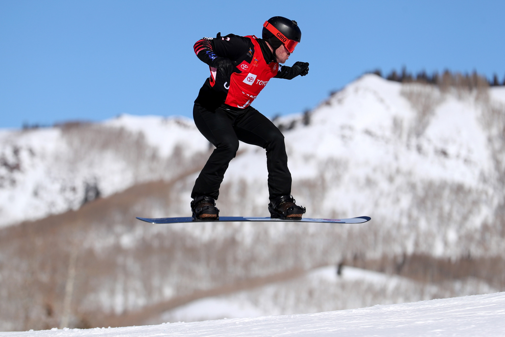 Jeff Archibald guided Mick Dierdorff to the men's snowboardcross world title in Utah in his last season as coach ©Getty Images