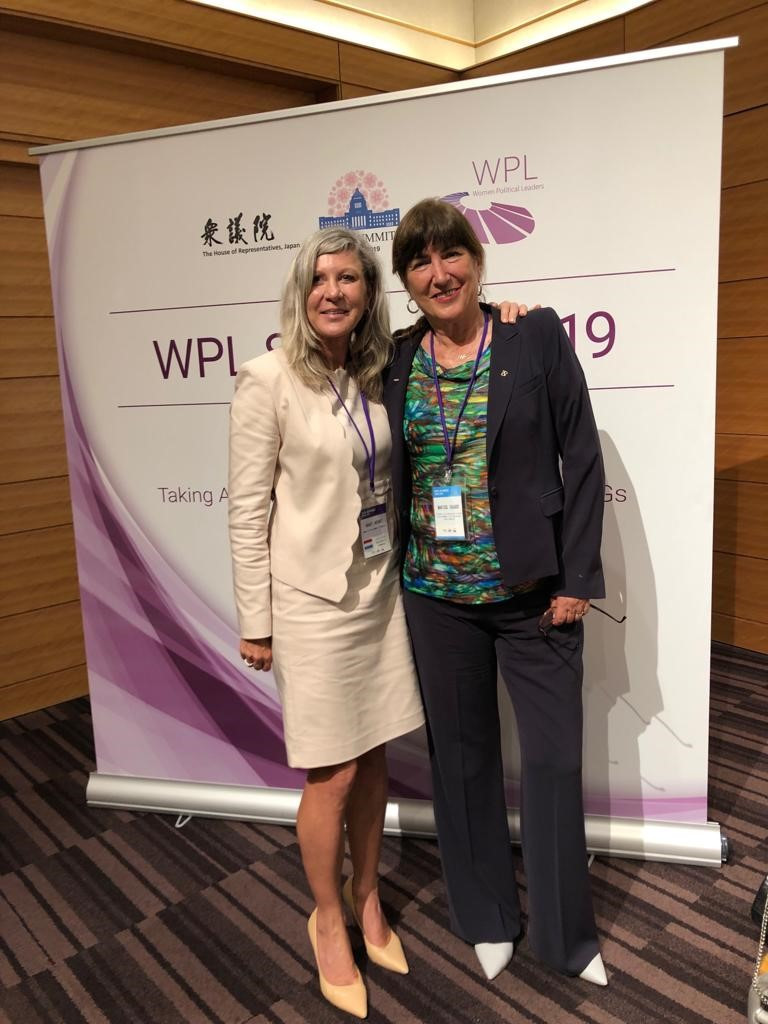 ITU President attends Women Political Leaders Summit on behalf of IOC
