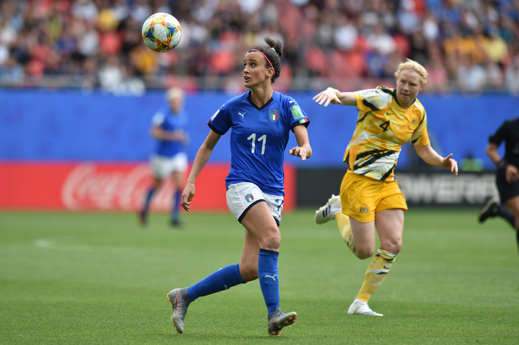 In Italy, more than seven million people tuned in to watch the Azzurri defeat Australia 2-1 at the FIFA Women's World Cup - the previous highest audience for the competition had been 202,844 ©Getty Images