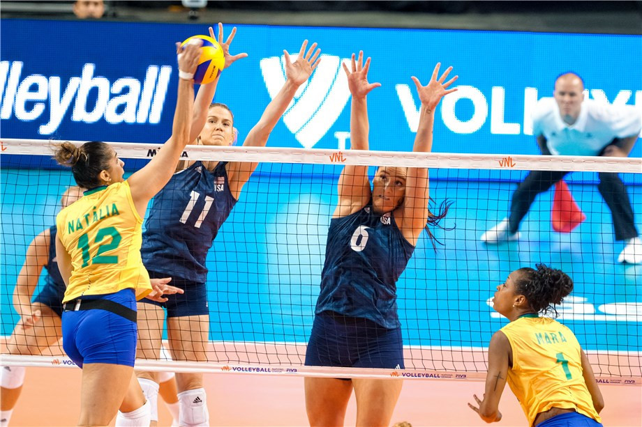 The United States will be aiming to retain their FIVB Women's Nations League crown in Nanjing ©FIVB