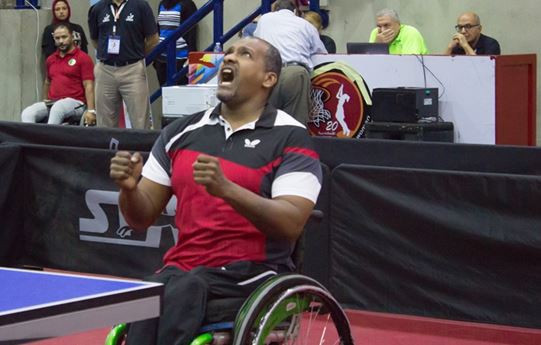 Egypt's Mohamed Sameh Eid Saleh earned his place at a fifth Paralympic Games when winning the men's Class Four event at the African Para Table Tennis Championships in Alexandria ©ATTF