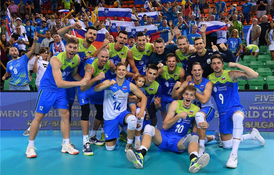 Hosts Slovenia are among the six teams vying for one available spot in next year's FIVB Nations League at the 2019 FIVB Men's Challenger Cup in Ljubljana ©FIVB