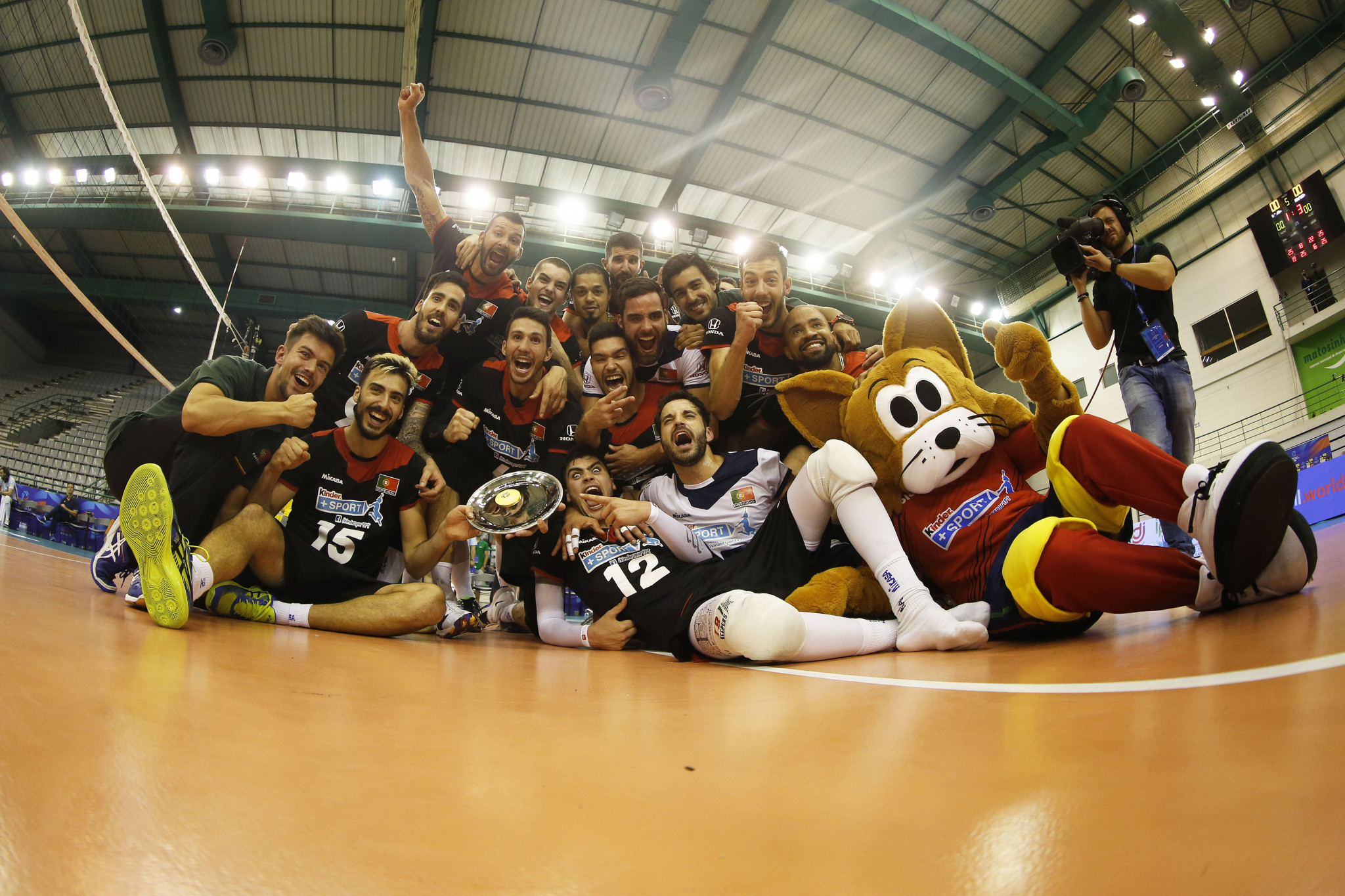 Hosts Portugal won the 2018 edition of the FIVB Men's Challenger Cup ©FIVB