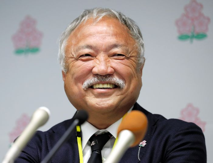 Shigetaka Mori elected new President of Japan Rugby Football Union