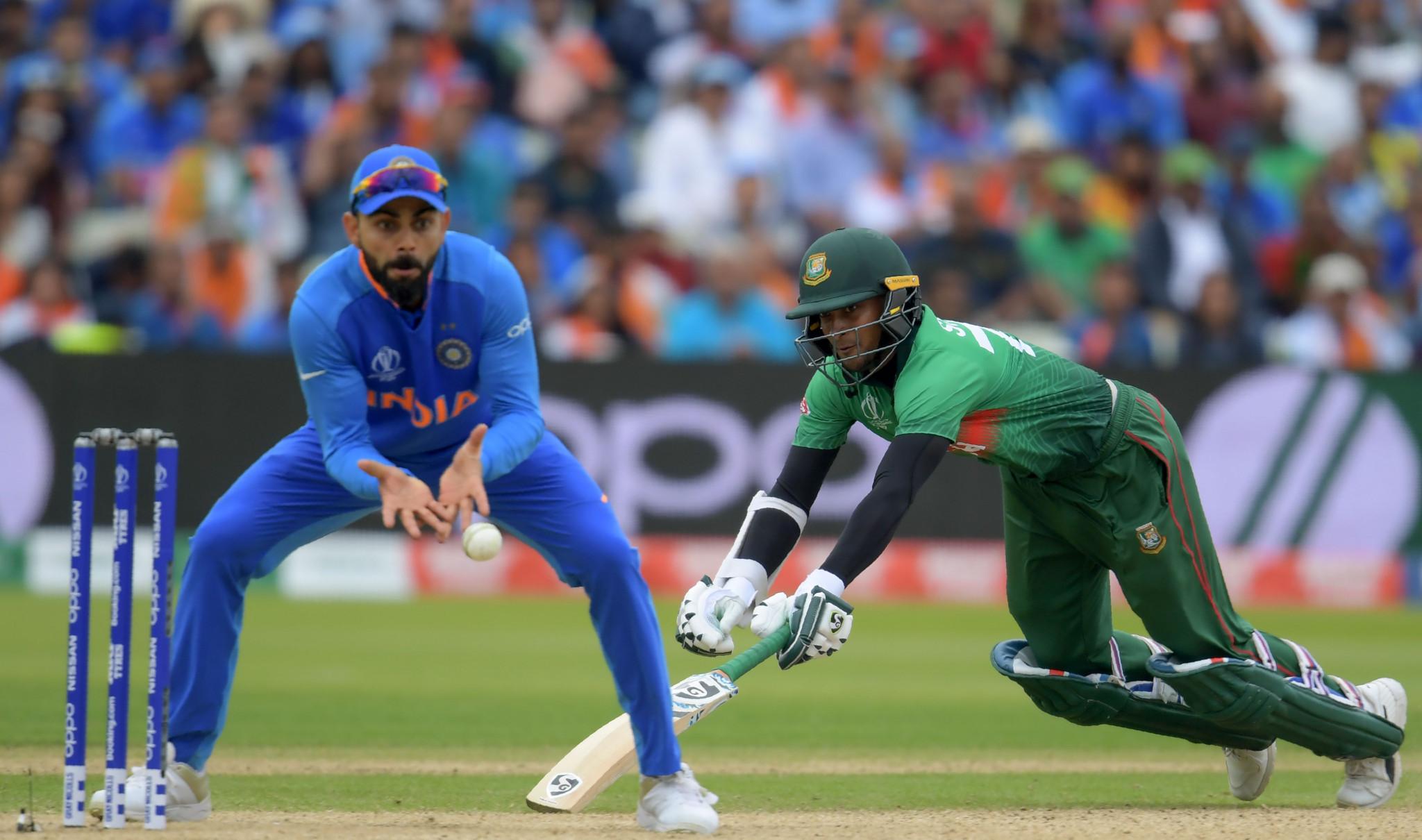 India beat Bangladesh to reach semi-finals at ICC Cricket World Cup