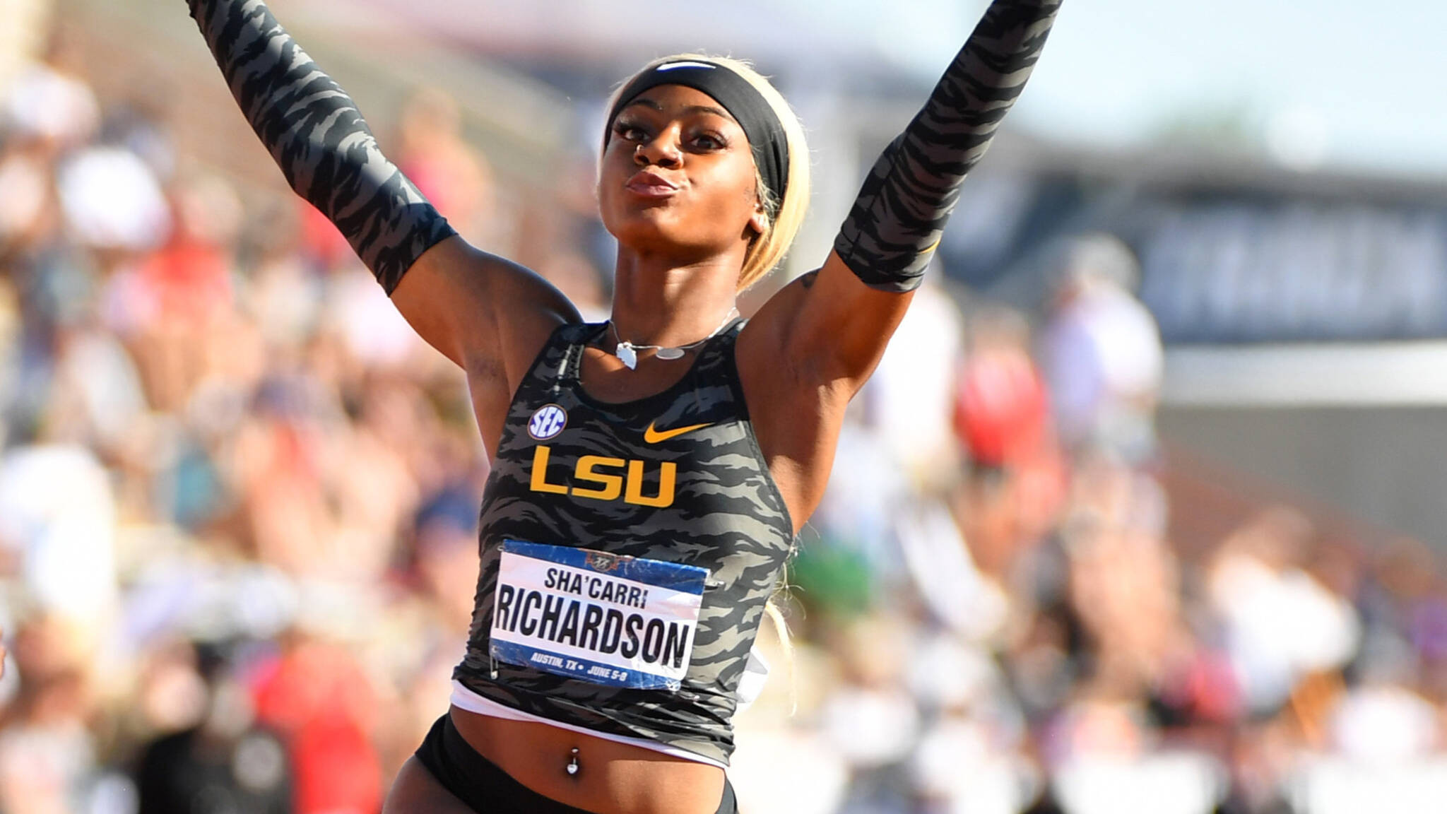 It is hoped the Collegiate Advisory Council established by the USOPC will help promising NCAA athletes like Sha'Carri Richardson make the transition from university competition to Olympic-level standard ©Getty Images