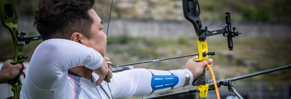 Olympic gold medallist Oh tops men's recurve qualification at Archery World Cup