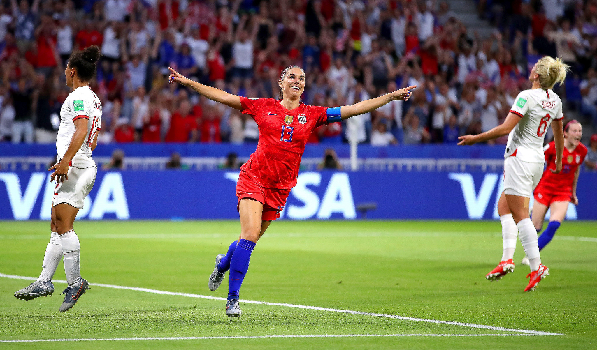 United States reach FIFA Women's World Cup final with dramatic win over England