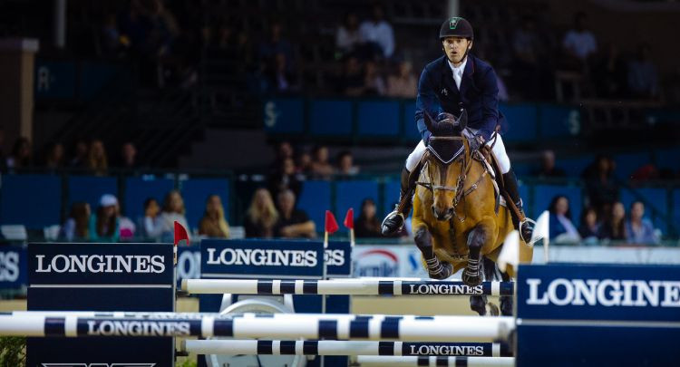 International Equestrian Federation President Ingmar De Vos claimed the Longines extension showed a commitment to the growth of the sport in North America ©Getty Images
