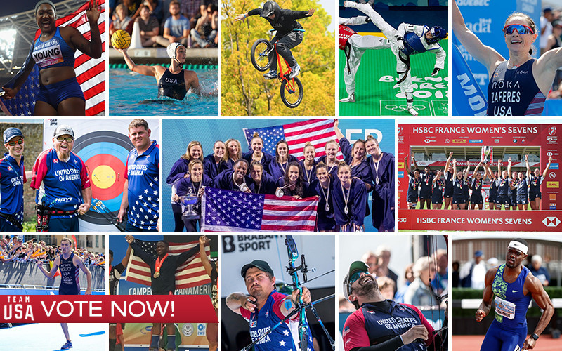 The United States Olympic and Paralympic Committee has announced the finalists for the Team USA Awards Best of June ©USOPC
