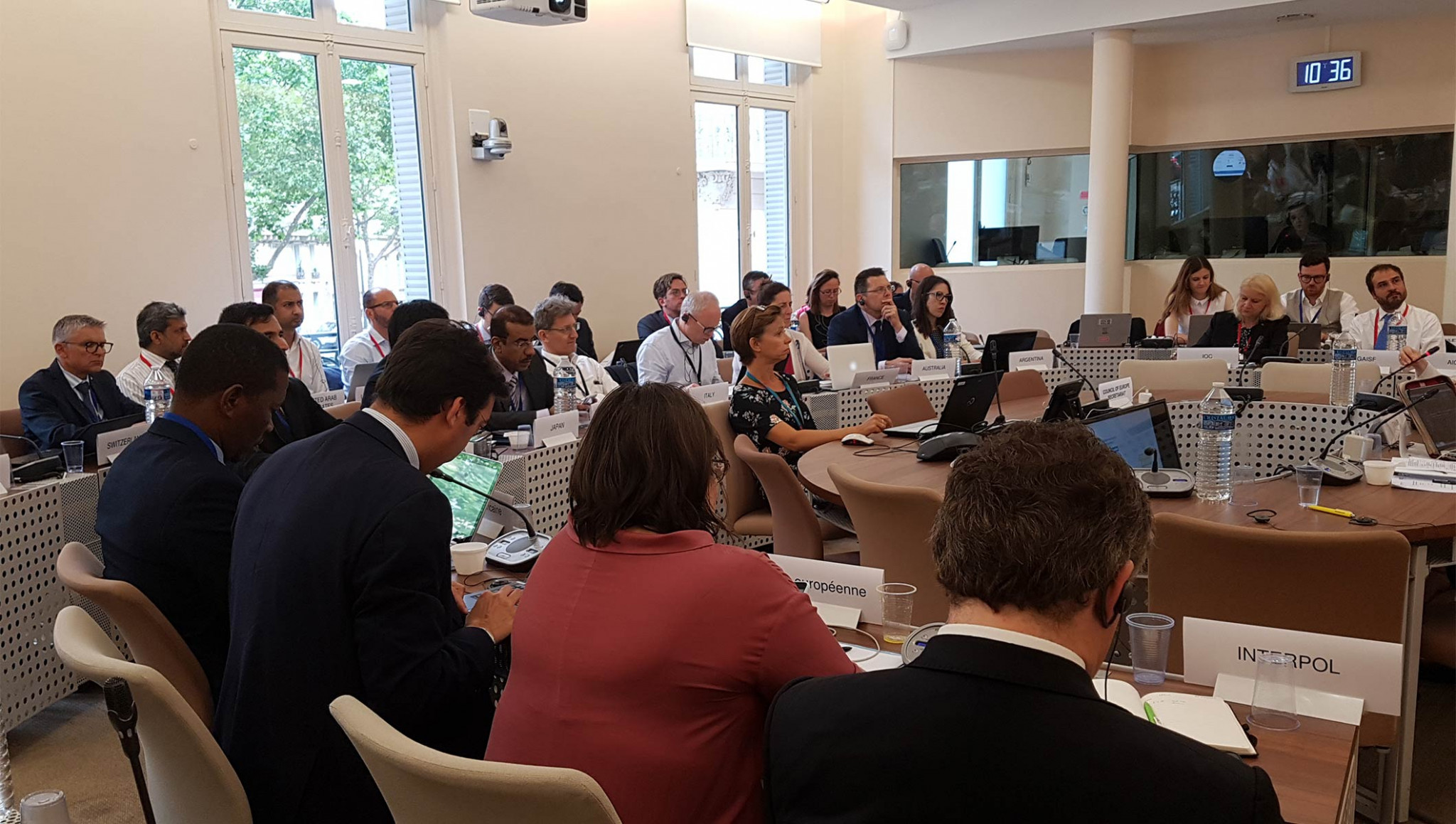 A new taskforce has been established to improve cooperation between criminal justice authorities and sports organisations ©IOC