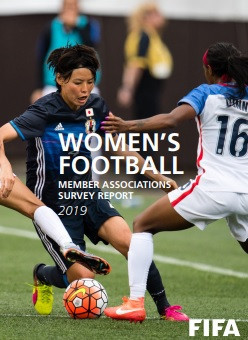 FIFA survey reveals nearly three quarters of members have a women's team
