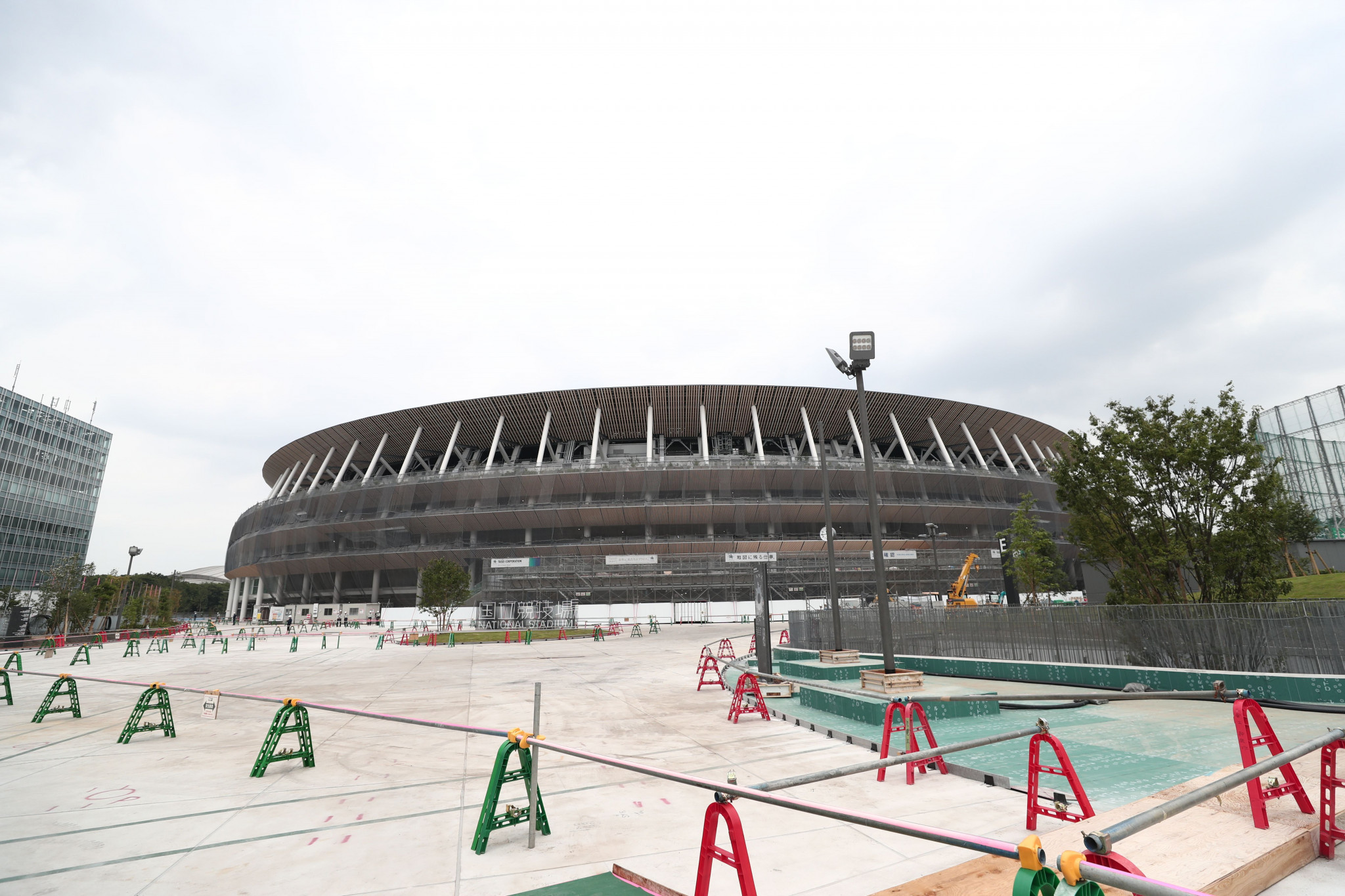 Tokyo 2020 National Stadium nearing completion with opening set for December