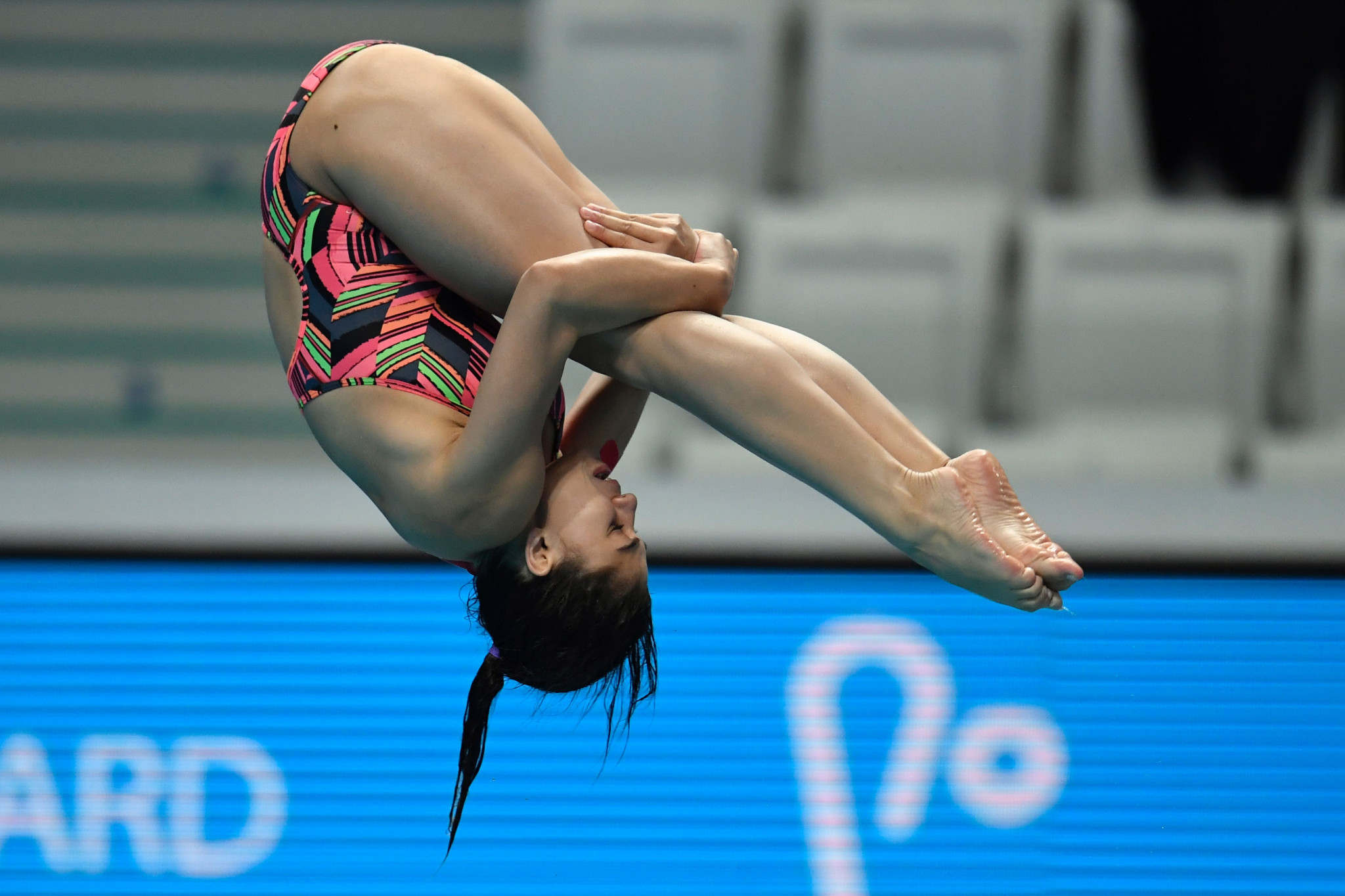 Mexico's Dolores Hernández is bidding to defend her 1m Springboard gold medal from the 2017 Taipei Summer Universiade ©Getty Images