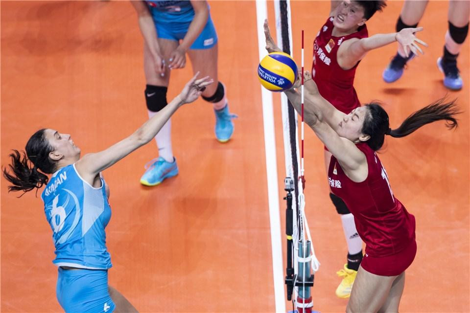 Turkey overcame China in the other match held on the opening day in Nanjing ©FIVB