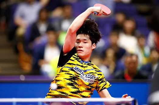 He to take on top seed Ding at ITTF Korea Open