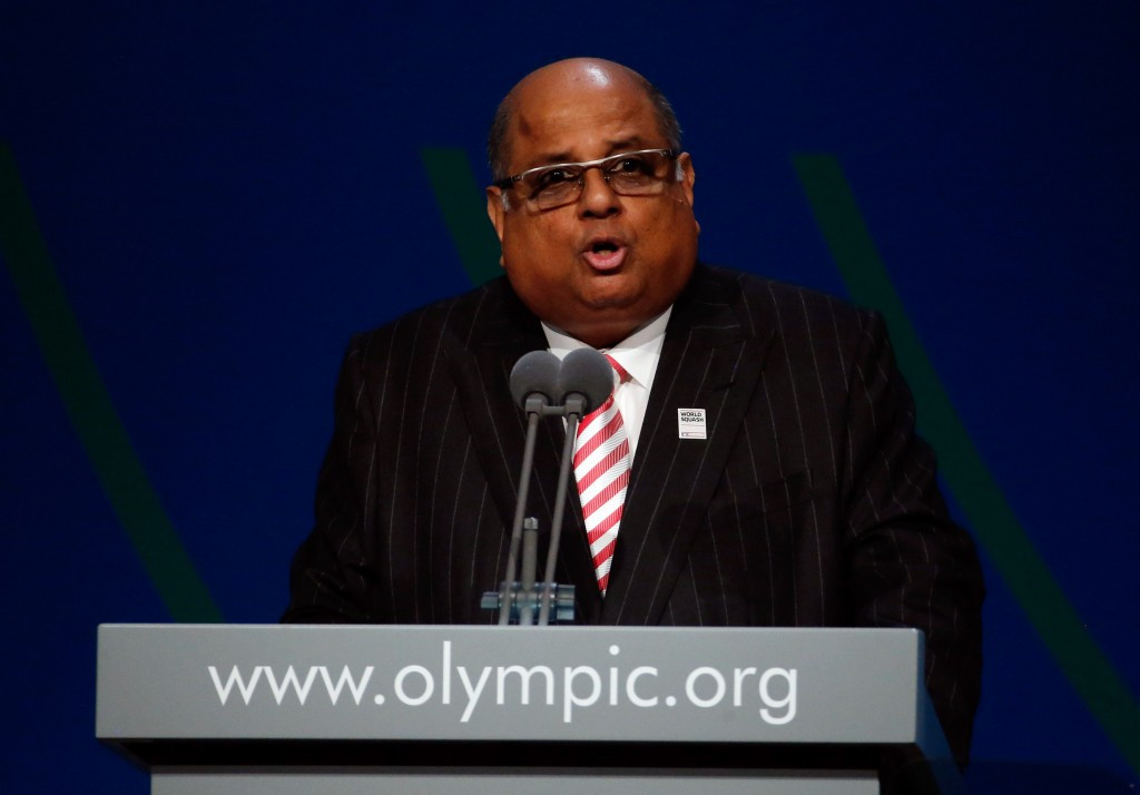 N Ramachandran has been blamed for squash's failed Olympic bid by the Professional Squash Association ©Getty Images