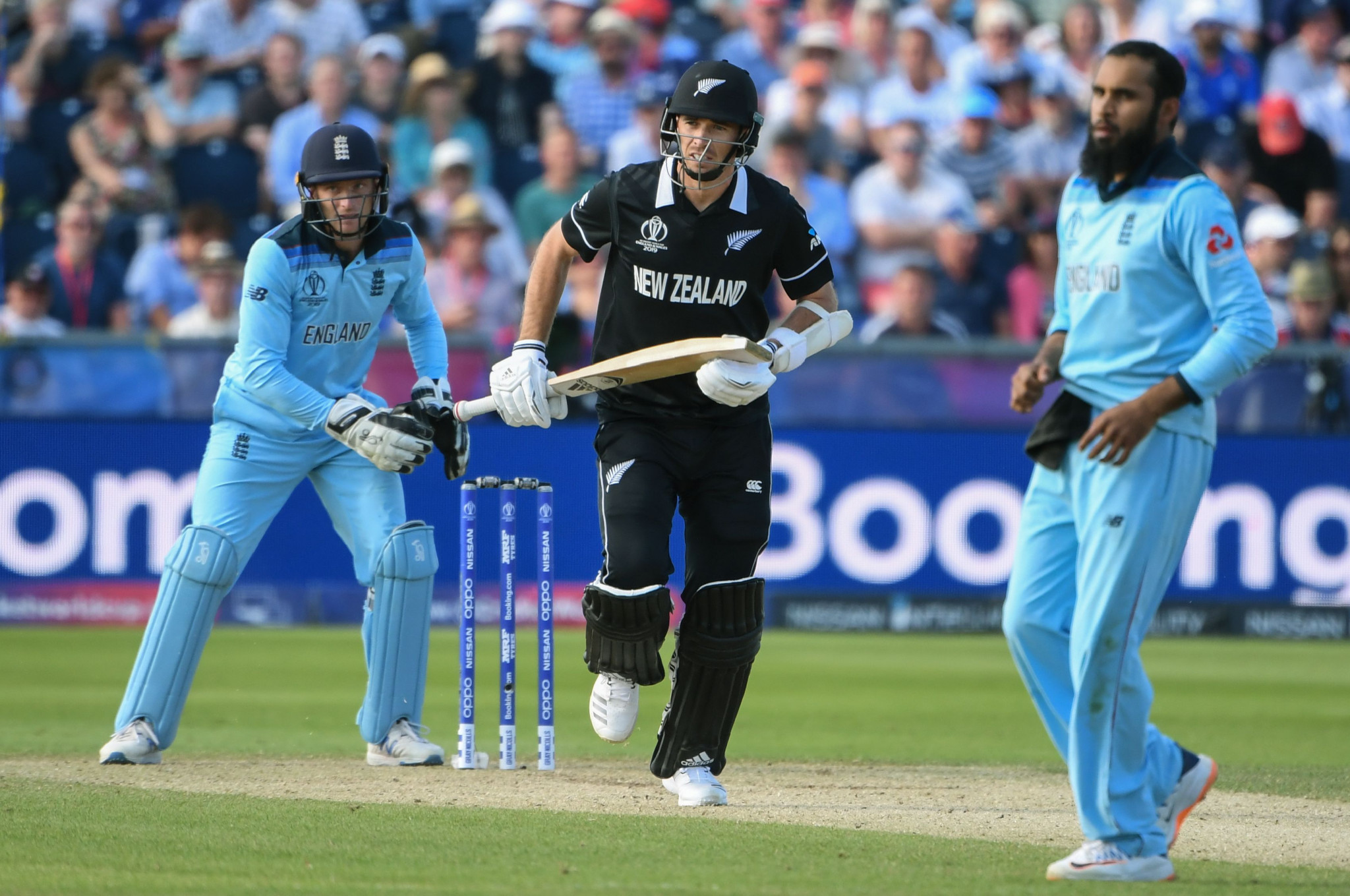 New Zealand's chase never got going as they collapsed to 186 all out ©Getty Images
